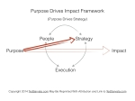 Purpose Drives Strategy